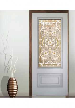 Geam Decorativ Usa Interioara Model CRISTAL 10 [0]