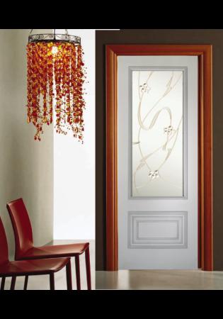 Geam Decorativ Usa Interioara Model CRISTAL 20 [2]