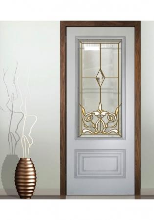 Geam Decorativ Usa Interioara Model CRISTAL 70
