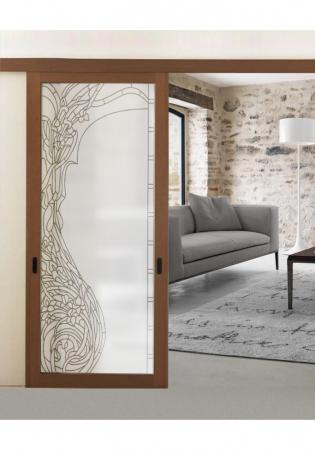 Geam Decorativ Usa Interioara Model ELLE0