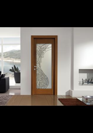 Geam Decorativ Usa Interioara Model ELLE2