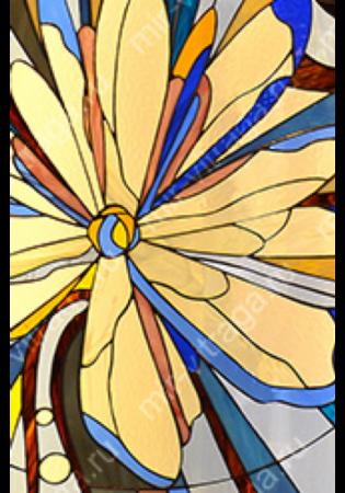 Geam Decorativ Usa Interioara Model GEMINI1