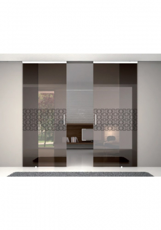 Geam Decorativ Usa Interioara Model GOLDEN TULIP1