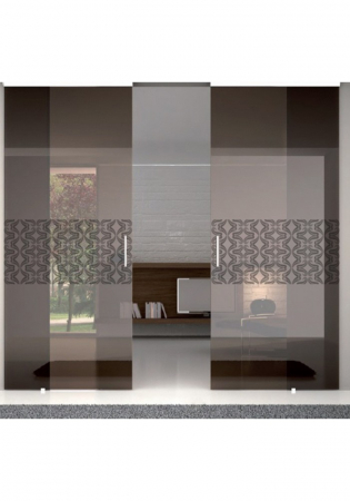 Geam Decorativ Usa Interioara Model GOLDEN TULIP2