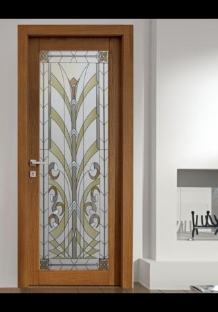 Geam Decorativ Usa Interioara Model LILY [0]