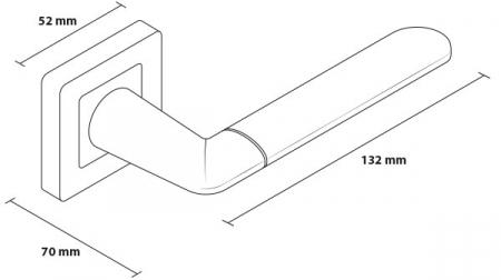 Mâner LINE Crom-Nichel6