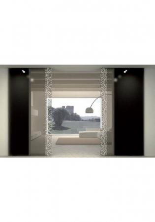 Geam Decorativ Usa Interioara Model LUGANO VERTICAL0