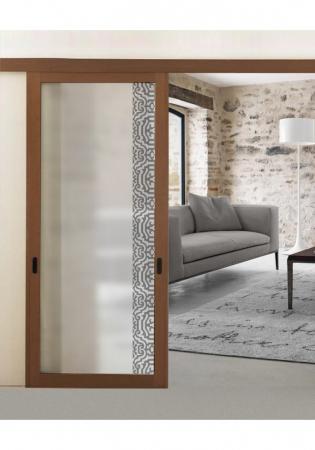 Geam Decorativ Usa Interioara Model LUGANO VERTICAL1