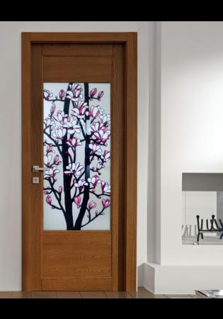Geam Decorativ Usa Interioara Model MAGNOLII [0]