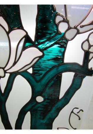 Geam Decorativ Usa Interioara Model MAGNOLII [2]