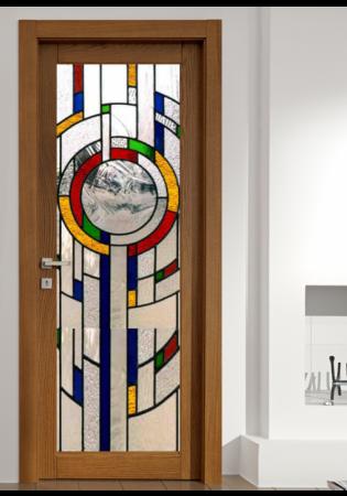 Geam Decorativ Usa Interioara Model MIRO0