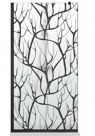 Paravan Dus Walk-In AQUA ROY BLACK TREE [8]