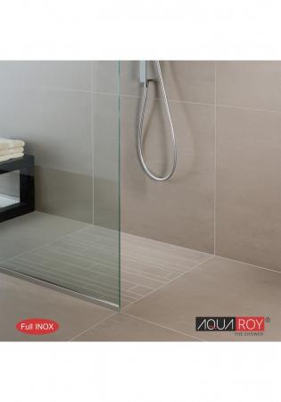 Paravan Dus Walk-In Aqua Roy cu sticla clara [2]