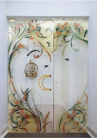 Geam Decorativ Usa Interioara ModelPROVENCE6
