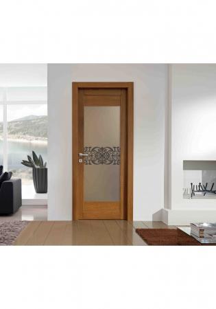 Geam Decorativ Usa Interioara Model REGENCY ORIENTAL1