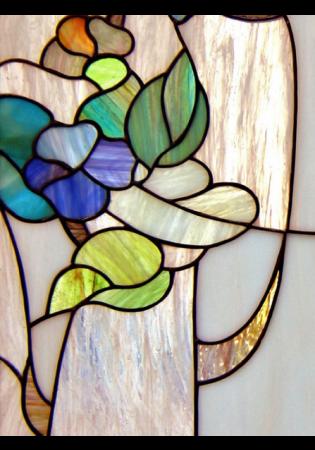 Geam Decorativ Usa Interioara Model ROMANTIC [1]