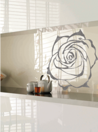 Sticla Securizata Imprimata Model ROSE0