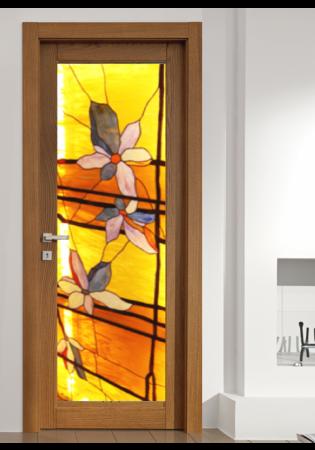 Geam Decorativ Usa Interioara Model SUN0