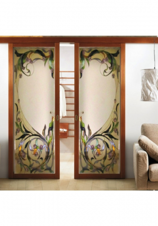 Geam Decorativ Usa Interioara Model TOSCANA1
