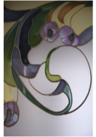 Geam Decorativ Usa Interioara Model TOSCANA4