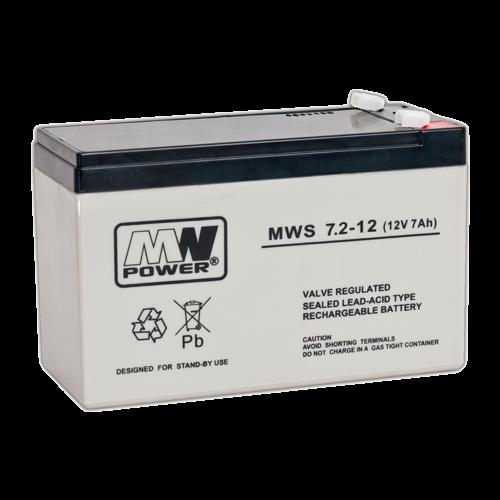 Acumulator 12V, 7.2Ah - MWS MWS12-7.2 [0]