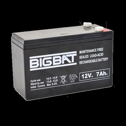 Acumulator BIG BAT 12V, 7 AH BB12V7 [0]