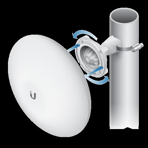 Antena wireless NanoBeam M5 19dBi airMAX MIMO - Ubiquiti NBE-M5-19 [1]