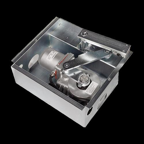 Automatizare ingropata pentru poarta batanta 2x2.5m - MOTORLINE SUBWING700-KIT [4]