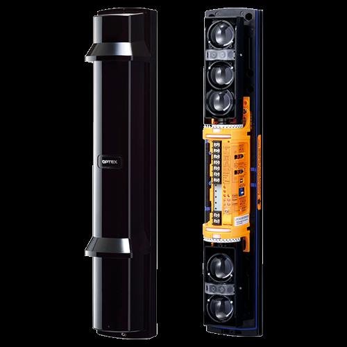 Bariera IR de exterior 200m, 4 fascicule, 4 canale Professional - OPTEX SL-650QDP [1]