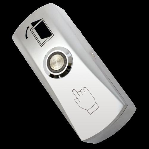Buton iesire aplicabil din metal, cu LED CSB-805L [1]