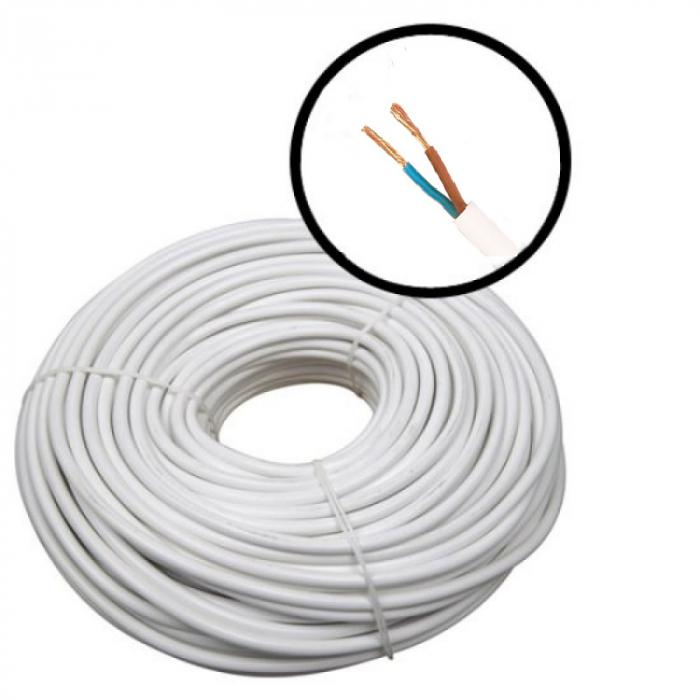 Cablu alimentare 2X1.5, 100m MYYM-2X1.5 [0]