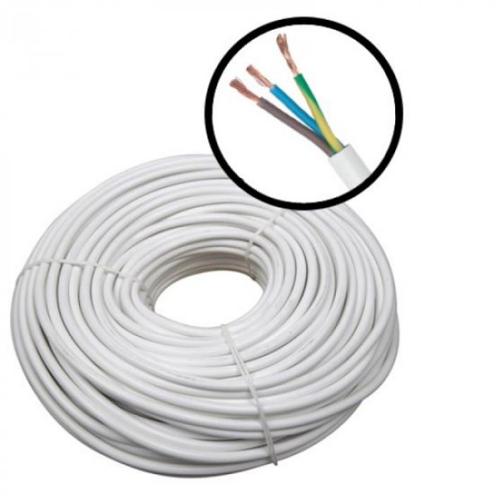 Cablu alimentare 3x0.75, 100m MYYM- 3X0.75 [0]
