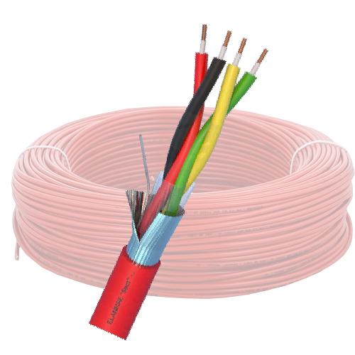 Cablu de incendiu E120 - 2x2x0.8mm, 100m ELN120-2x2x08 [0]