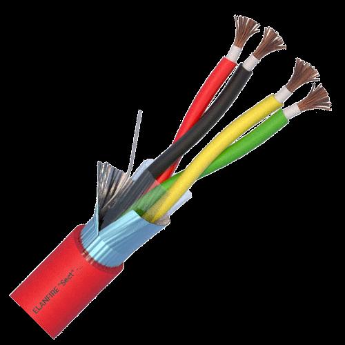 Cablu de incendiu E120 - 2x2x1.0mm, 100m - ELAN ELN120-2x2x1.0 [0]