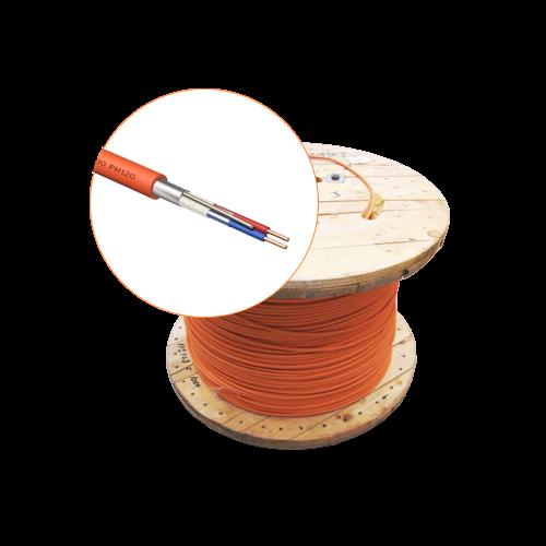 Cablu incendiu JE-H(St)H FE 180 E30/E90, 1x2x08 ecranat, 500m - EuroClass MEK90-1x2x08-T [0]