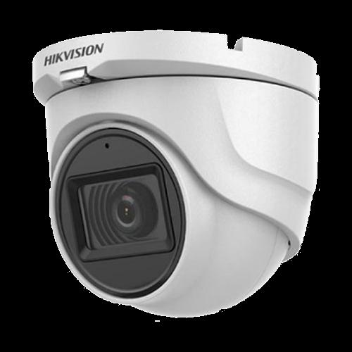 Camera 5MP, lentila 2.8mm, IR 30m, AUDIO integrat - HIKVISION DS-2CE76H0T-ITMFS-2.8mm [0]