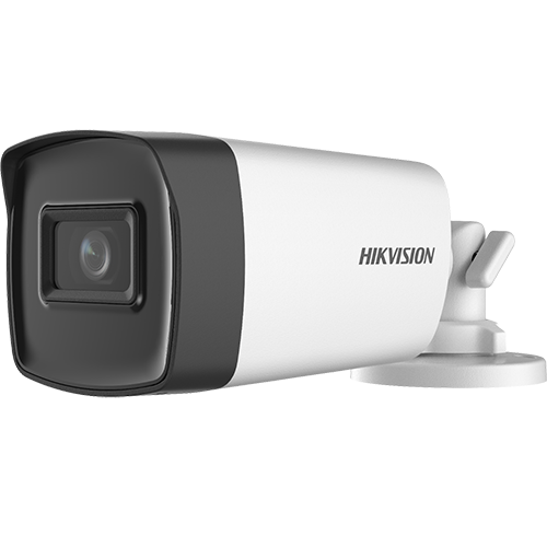 Camera AnalogHD 2MP, lentila 2.8mm, IR 40m, AUDIO integrat - HIKVISION DS-2CE17D0T-IT3FS-2.8mm [0]