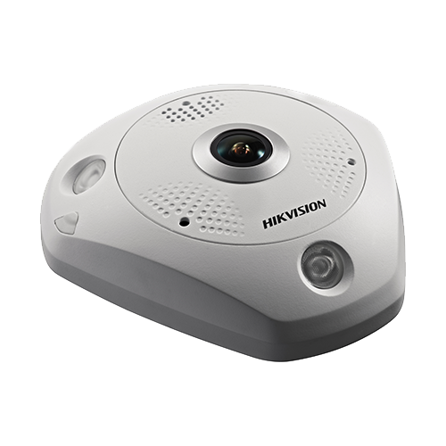 Camera IP 4K-ULTRA HD 12.0MP, FISHEYE, AUDIO integrat - HIKVISION DS-2CD63C5G0-IVS-1.29mm [2]