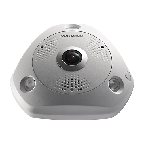 Camera IP 4K-ULTRA HD 12.0MP, FISHEYE, AUDIO integrat - HIKVISION DS-2CD63C5G0-IVS-1.29mm [1]