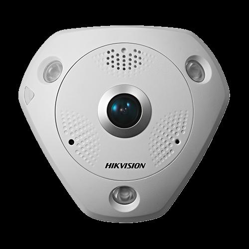 Camera IP 4K-ULTRA HD 12.0MP, FISHEYE, AUDIO integrat - HIKVISION DS-2CD63C5G0-IVS-1.29mm [0]