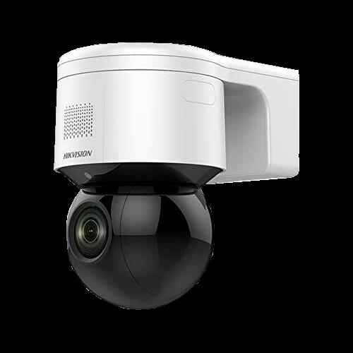 Camera IP Mini PTZ, 4.0 MP, zoom optic 4X, IR 50M, Audio, Flash - HIKVISION DS-2DE3A404IW-DE [0]