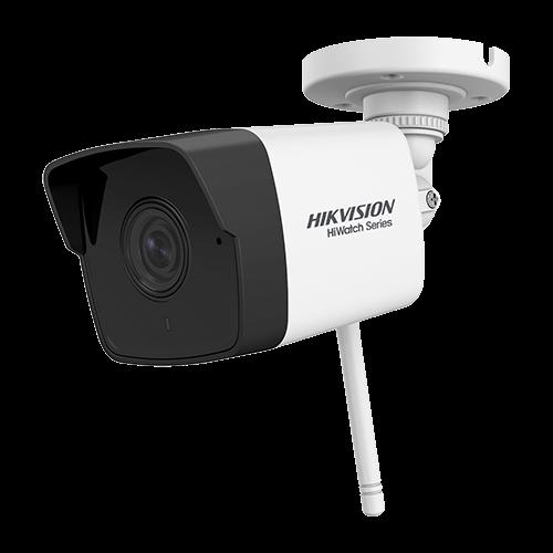 Camera IP Wi-Fi 2.0MP, lentila 2.8mm, IR 30m, Audio, SD-card - HIKVISION HWI-B120-D-W [0]
