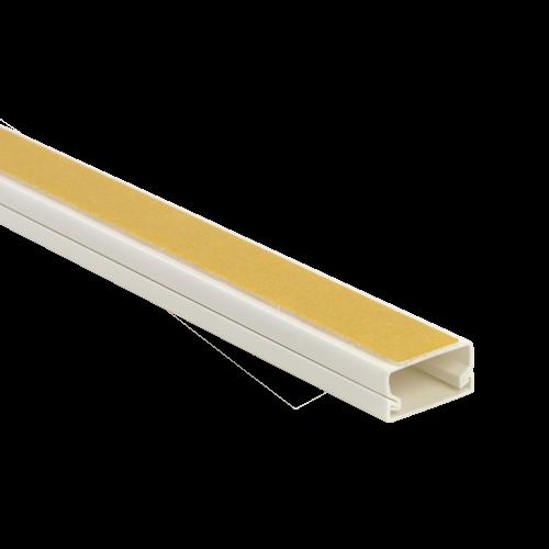 Canal cablu 20x10 mm cu adeziv, 2m - DLX PVCA-206-10 [0]