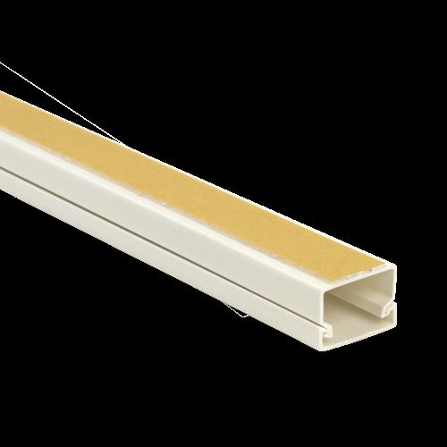 Canal cablu 25x16 mm cu adeziv, 2m - DLX PVCA-256-16 [0]