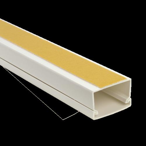 Canal cablu 40x25 mm cu adeziv, 2m - DLX PVCA-406-25 [0]