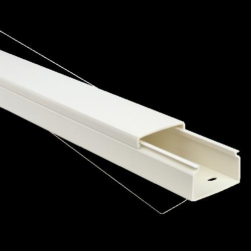 Canal cablu 40x25 mm cu adeziv, 2m - DLX PVCA-406-25 [1]