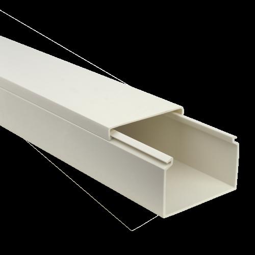 Canal cablu 60x40 mm, 2m - DLX PVC-605-40 [0]