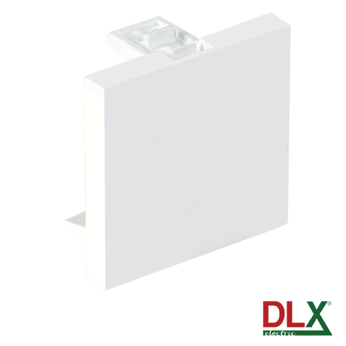 Capac fals pentru aparataj 45x45 mm (2 module) - DLX DLX-245-48 [0]