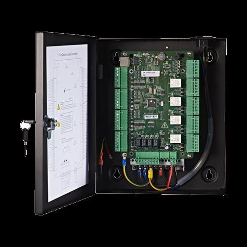 Centrala de control acces pentru 4 usi unidirectionale, conexiune TCP/IP -HIKVISION DS-K2804 [1]