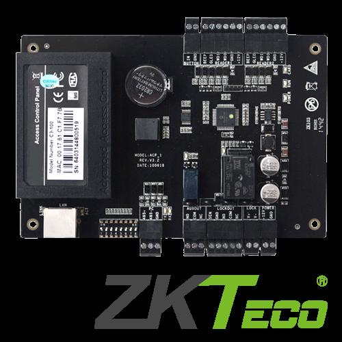 Centrala de control acces pentru o usa (bidirectionala) -ZKTeco C3-100 [0]